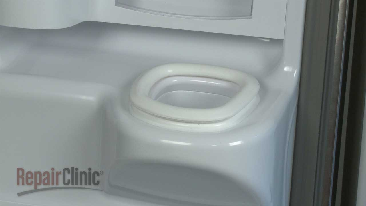 Whirlpool Refrigerator Ice Chute Seal Replacement