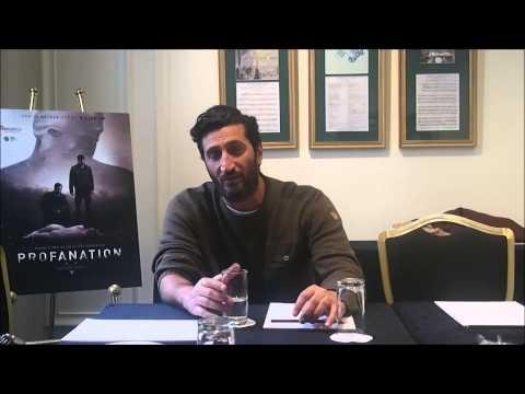 Rencontre avec Fares Fares pour le film Profanation