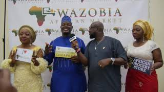 WAZOBIA FAMILY ON THE RED CARPET