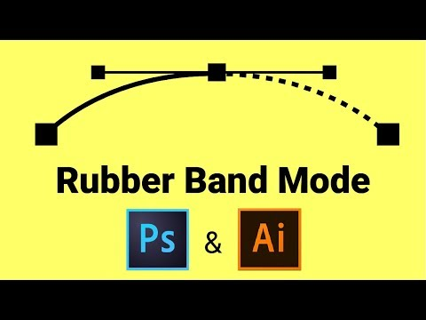 How to Enable Rubber Band Mode in Photoshop & Illustrator