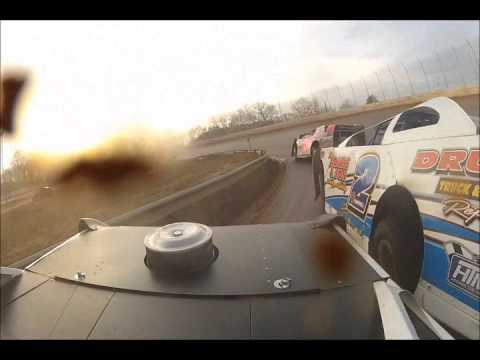 DVD Disk1 of Super Late Models Cabin Fever 2012 Boyds Speedway 2-8-12