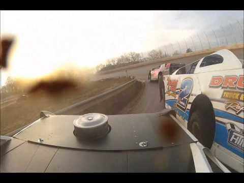 DVD Disk1 of Super Late Models Cabin Fever 2012 Boyds Speedway 2-8-12