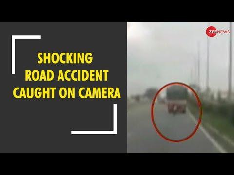 Karnataka: Shocking road accident caught on camera