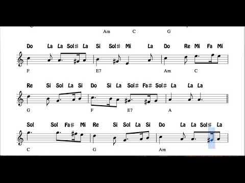 What Child is this? Partitura con Notas y Acordes Flautas, Violín, Oboe Villancico Greensleeves