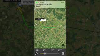 Antonov An-148 Crash in Moscow Flightradar24