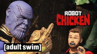 Robot Chicken | The Thanos Snap  | Adult Swim UK 🇬🇧