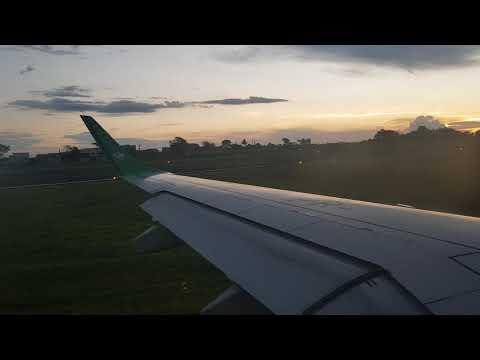 Pouso No Aeroporto De Londrina/PR Com Um Embraer 195 Da Azul Linhas Aéreas