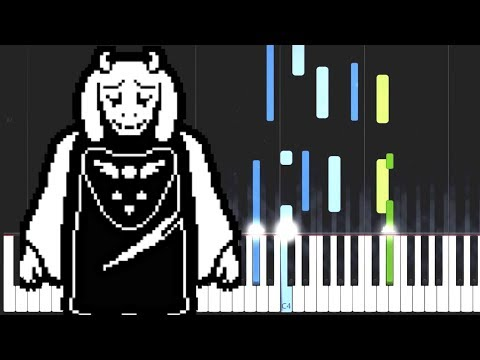 Undertale OST - Main Theme (Synthesia)
