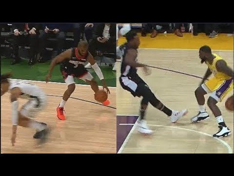 WHICH CROSSOVER WAS BETTER? Lance Stephenson Makes Jeff Green Dance, CP3 Crosses Up DJ Wilson!