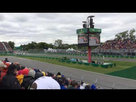 F1 2016 Race Start Grandstand 24 Canada Grand Prix