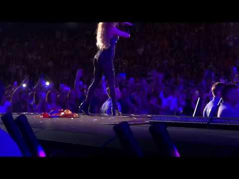 Shakira - She Wolf with Fans (Live in Hamburg - El Dorado World Tour Opening Night) HD