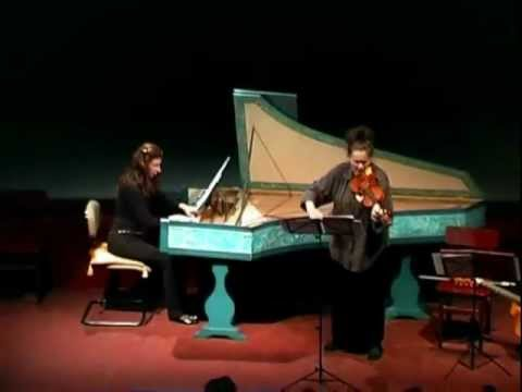 "Elizabeth Blumenstock (violín) - Nives Dearmas (clave) ""H. Biber - Sonata V"""