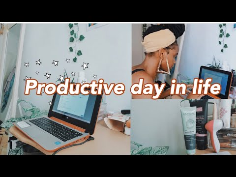 A *productive*  day in the life of a University student *I'm stressed*