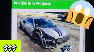 A Cuanto se vendio el 2019 Ferrari Pista en subasta (copart)