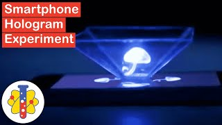 Smartphone Hologram Experiment | Amazing Science Experiments | Lab 360