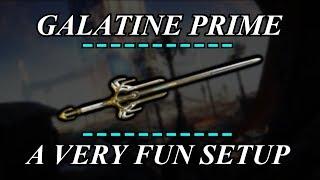 Warframe Weapon Builds - Galatine Prime (0 Forma)