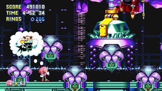 Sonic Mania: Part 10: Lava Reef Zone (Super Knuckles)
