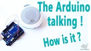 Arduino Uno Talking How to Make Arduino Talking System