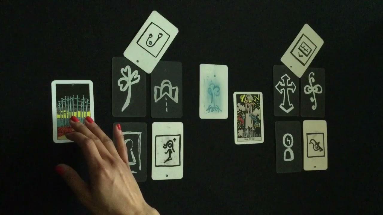 Download DER RAT DES UNIVERSUMS🔹Drei Punkte! Merke Dir! • Charlie Tarot Orakel Kartenlegen