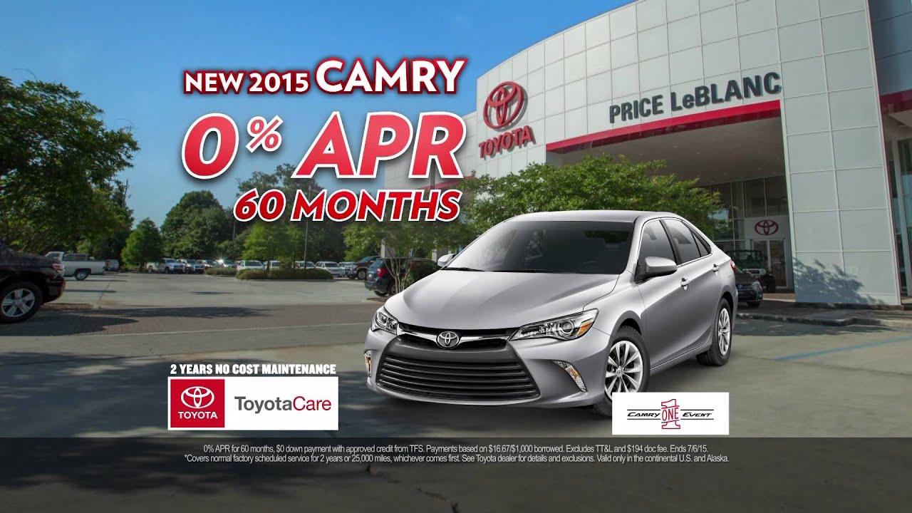 Price Leblanc Toyota June Trade Save Camry