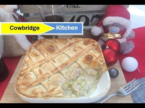 Turkey & Leek Pie - Boxing day food