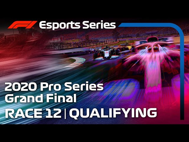 LIVE: 2020 F1 Esports Pro Series FINAL Qualifying, Round 12