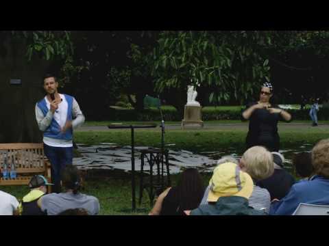 Auslan-interpreted Artist's Insight Talk – Jonathan Jones