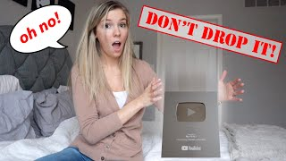 Don't Drop the Silver Play Button! The Doll Maker Tricks My PB and J To Drop It! Doll Maker Plays!