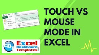 Touch vs Mouse Mode in Excel