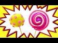 Learn colors with Play Doh Lollipops: Toys videos for kids
