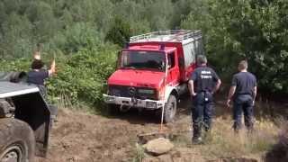 Allrad Übung der Feuerwehr Duisburg