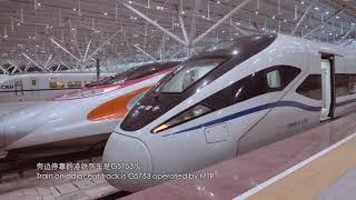 厦门 - 香港西九龙 高铁G3007次 (夏深、广深港高铁)Xiamen - Hong Kong High Speed Train