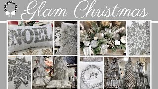 GLAM CHRISTMAS DECORATIONS AT ZGALLERIE & HOMEGOODS