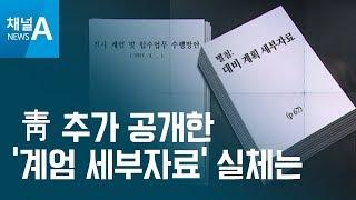 [뉴스분석]靑 추가 공개 '계엄 세부자료' 실체는? thumbnail