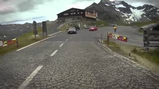 The Grossglockner Alpine Road - By Bike - Height 2571m / 8435ft 015⁄32in