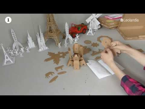 Leolandia cardboard Windmill assembly
