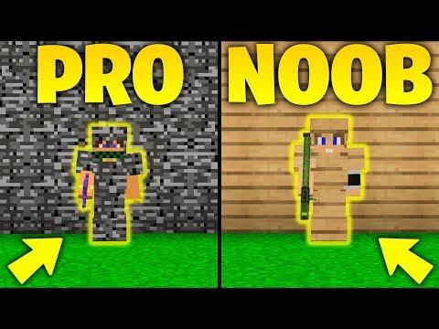 NOOB vs PRO  BEDROCK 30 CUORI vs LEGNO  Minecraft ITA