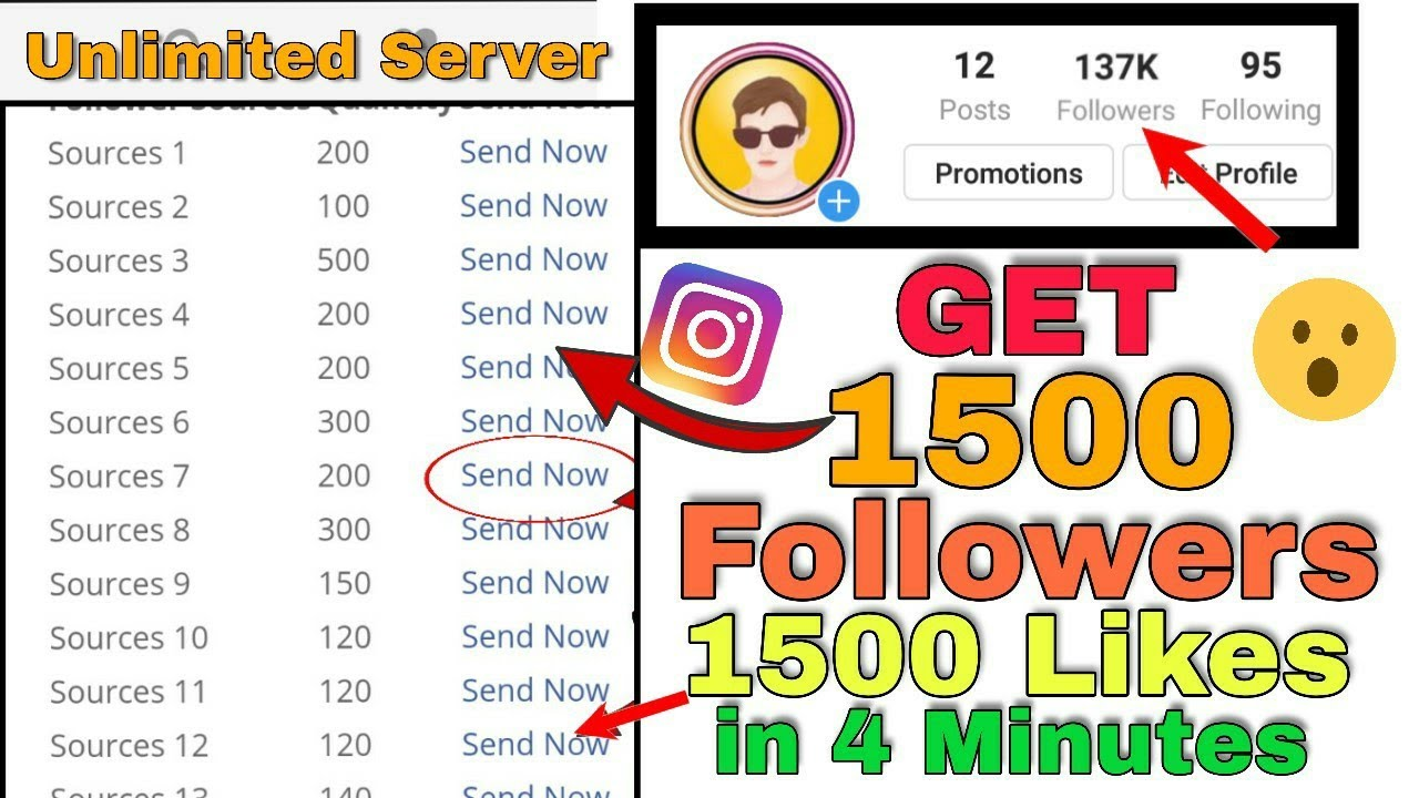 Instagram Par Followers aur Likes Kaise Badhaye | How To Increase FREE  Instagram Followers Hindi
