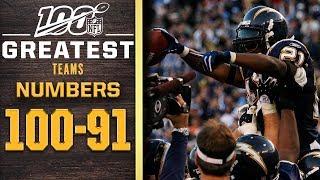 100 Greatest Teams: Numbers 100-91 | NFL 100