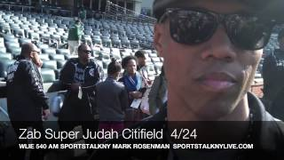 Zab Judah 4/24 3 DAYS before Championship Bout