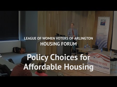 LWV Housing Forum 2018: Erik Gutshall
