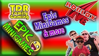Epic MiniGames on Roblox - Games w Viewers Stream