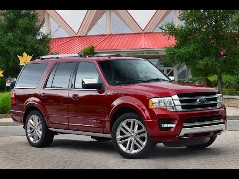 ford expedition 2016 car review - youtube