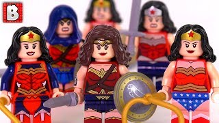 Every LEGO Wonder Woman Minifigure Ever Made!!! | Collection Review