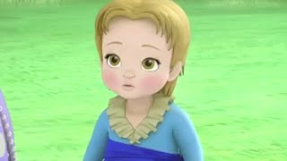 Sofia The First | 2 Princesses & A Baby - Cedric turns James Into A Baby! | Disney Junior UK HD thumbnail