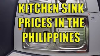 Kitchen Sink Prices In The Philippines Youtube