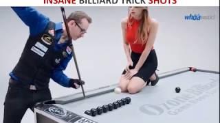 Amazing billiard trick shots
