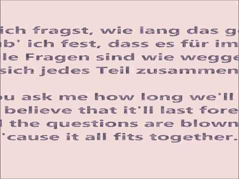 Zu dir (Weit Weg) — Mark Forster (English & German lyrics)