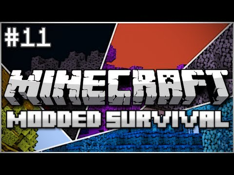 Minecraft: Modded Survival Let's Play Ep. 11 - Follow the Leader