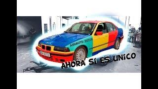 CON ESTA PINTURA NUESTRO BMW E36 320i ES UNICO EN TODO YOUTUBE... II ROPEBU